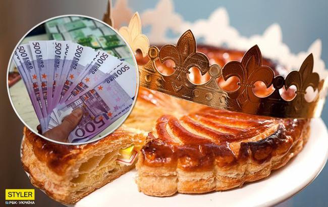 Пиріг волхвів: родина виявила у випічці чек на велику суму грошей