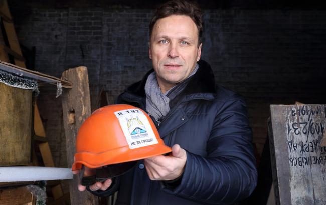 Фото: Директор Музея Майдана Игорь Пошивайло (РБК-Украина)