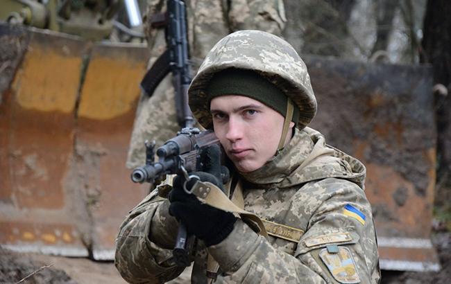 Фото: солдат ЗСУ (facebook.com/theministryofdefence.ua)