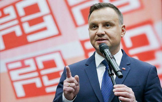 Дуда выиграл первый тур выборов в Польше