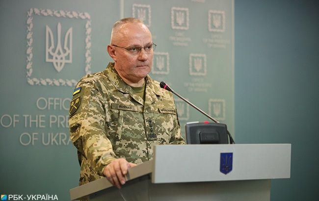 Хомчак о ситуации на Донбассе: все позиции находятся под контролем войск Украины
