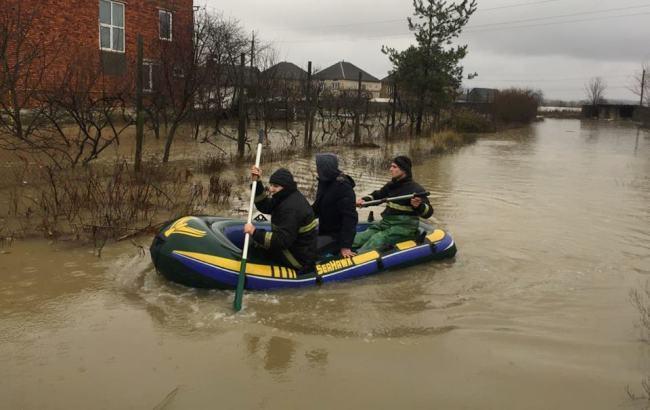 Фото: паводок (прес-служба ДСНС України в Закарпатській області)