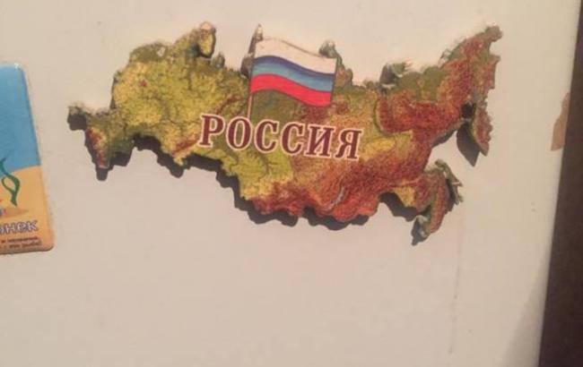 Фото: Атрибуты сепаратистов (facebook.com/olexander.osipov)