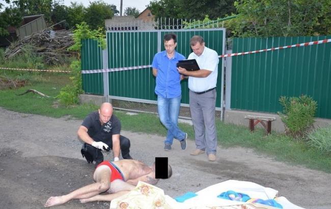 Фото: убийство в Кривом Озере