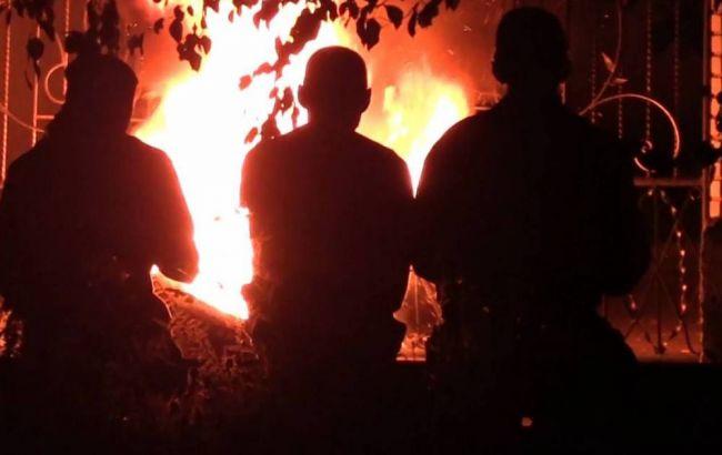 Фото: в Черкассах активисты захватили здание областной полиции