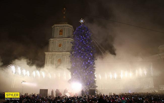 Фото: Главная елка Украины (РБК-Украина)