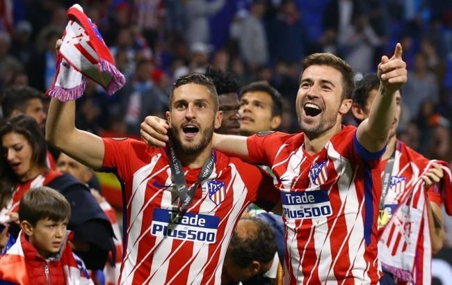 """Фото: """"Атлетико"""" делегировал в число лучших сразу несколько человек (uefa.com)"""