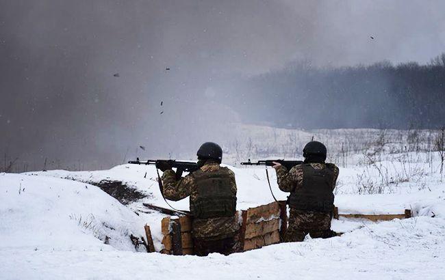 На Донбассе ранили одного украинского воина
