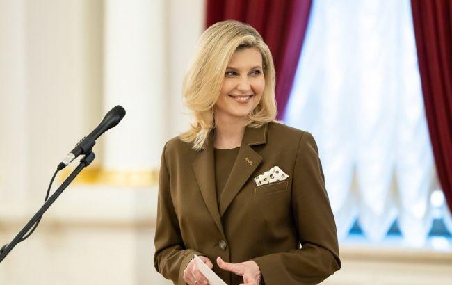 Лаконично и стильно: Елена Зеленская в модном брючном костюме покорила сеть