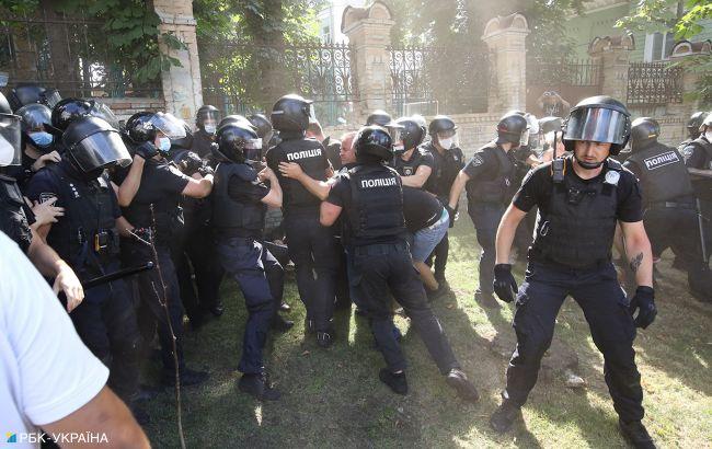 Двох учасників заворушень на Банковій затримали. Їм загрожує арешт