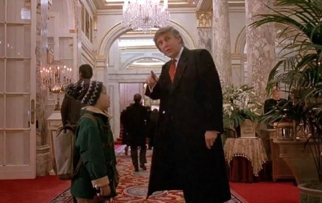 """Фото: Дональд Трамп у фільмі """"Один вдома 2"""""""