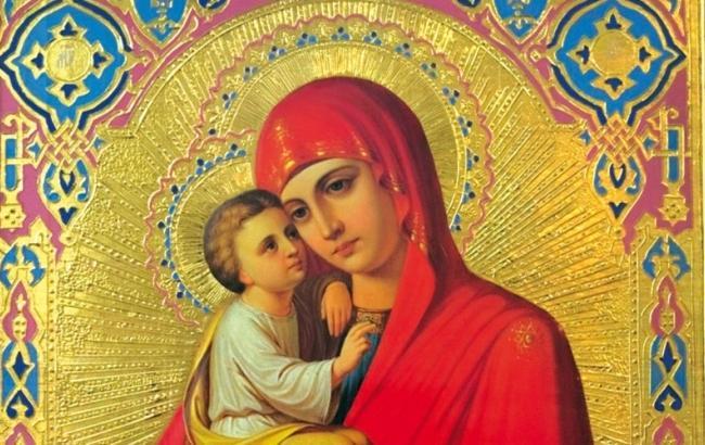 Фото: Икона Почаевской Божией Матери (ostrov-pravoslav.io.ua)
