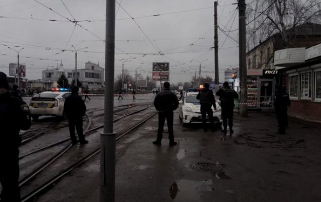 Фото: місце інциденту (newsroom.kh.ua)
