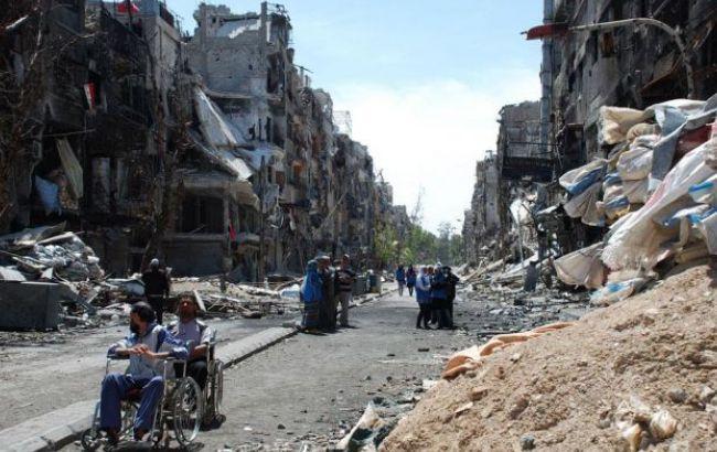 Фото: война в сирийском Алеппо