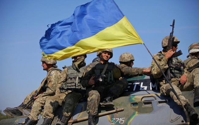 Фото: Вітання в День української армії (flickr.com/ministryofdefenceua)