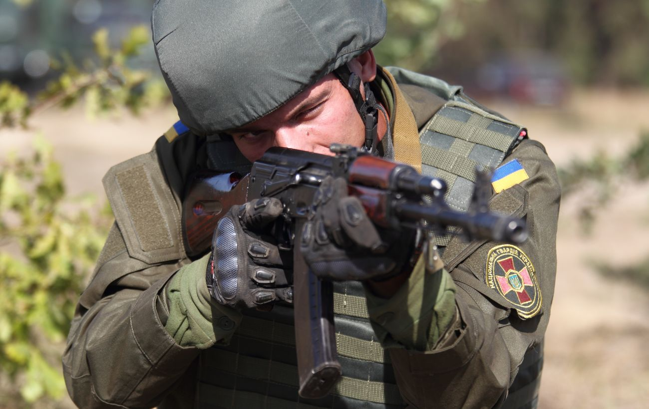 Украинские военные дали отпор боевикам на Приазовье