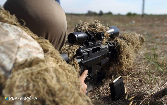 На Донбасі від пострілу снайпера загинув український військовий