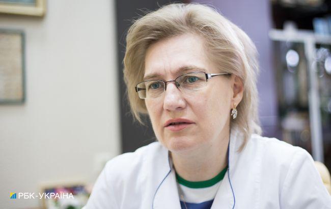 Голубовская объяснила, почему некоторые украинцы болеют COVID-19 без симптомов