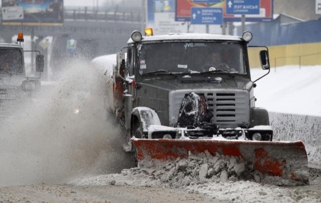 Фото: Прибирання снігу (kievcity.gov.ua)