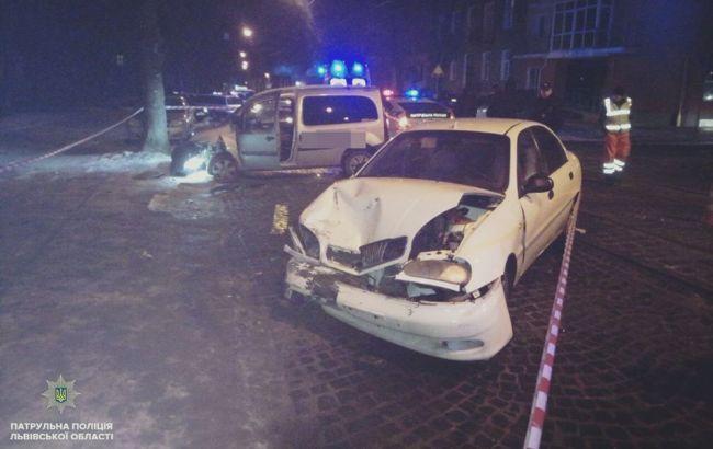 Фото: ДТП (патрульная полиция Львовской области)