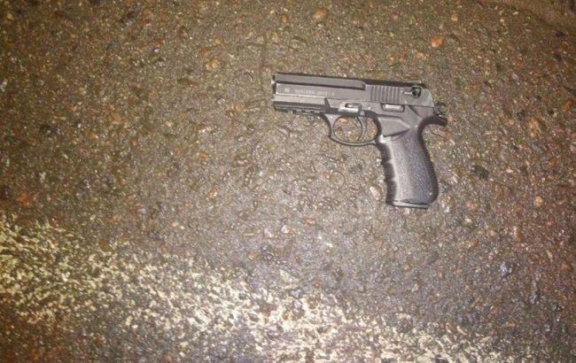 Фото: пистолет (пресс-служба полиции)