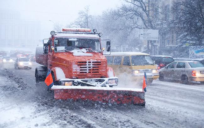 Заезд фургонов встолицу страны Украина могут ограничить, ежели выпадет снег