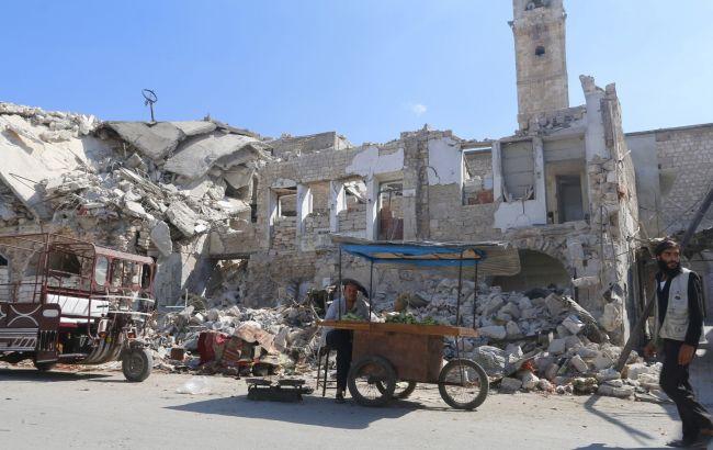 Фото: разрушения в Сирии