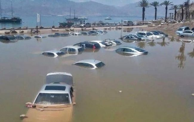 Фото: в Египте произошли наводнения