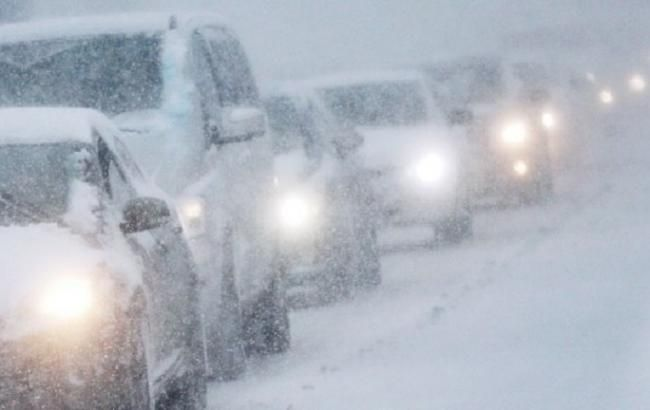 Погода вУкраїні: сніг і ожеледиця