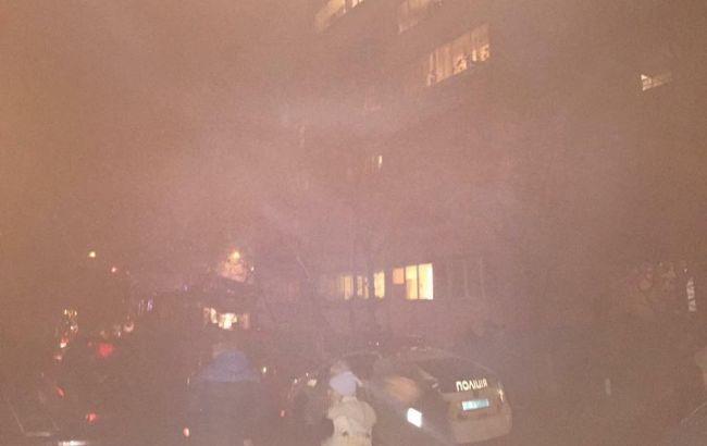 Фото: последствия взрыва в квартире Львова