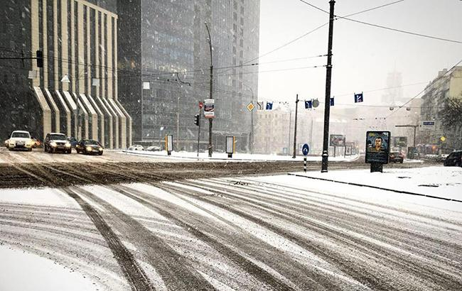 Фото: снег в Киеве (kyivcity.gov.ua)