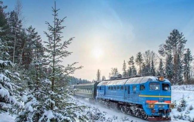 Снегопад ненарушил движение пригородных идальних поездов в российской столице
