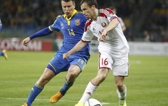 Сборная Беларуси назвала состав на матч с Украиной