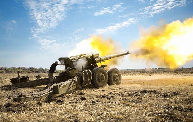 Засутки взоне АТО получили ранения двое украинских военных,— штаб