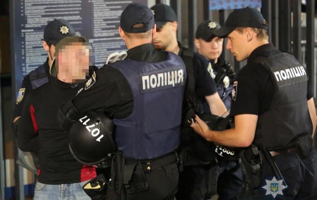 Фото: задержание (npu.gov.ua)