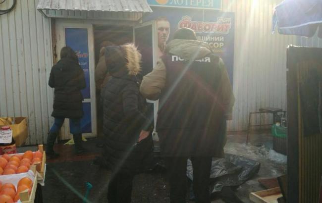 Фото: стрельба в Киеве (facebook/Оксана Блищик)