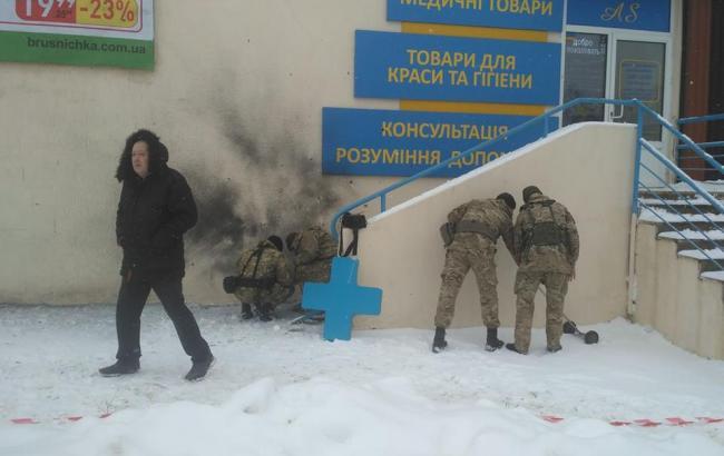 Фото: вибух в Харкові (facebook.com/otb.segodennya)
