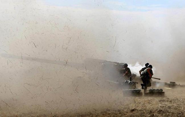 Бойовики на Донбасі вперше за час перемир'я застосували артилерію