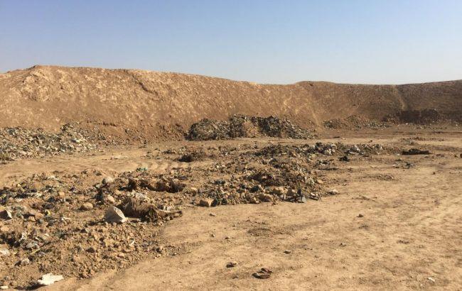 В Ираке нашли крупное захоронение жертв ИГИЛ