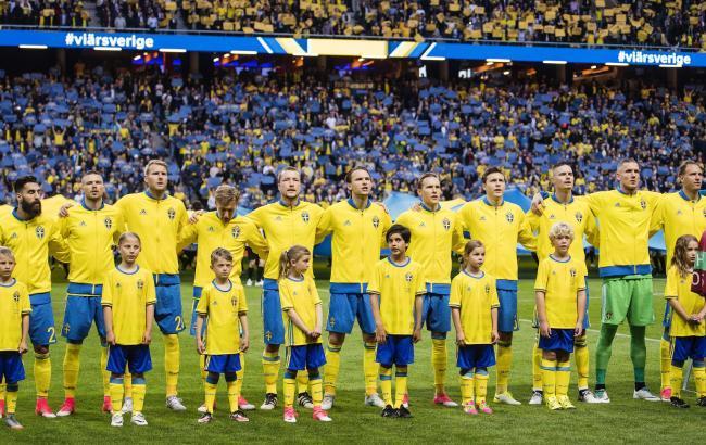 Фото: збірна Швеції (facebook.com/fotbollsupporter.se)