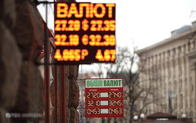 Готівковий курс долара наблизився до 27,50 гривень за долар