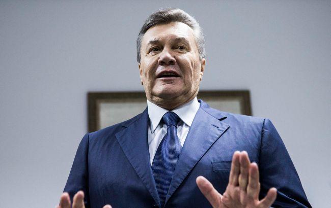 Янукович пожаловался вГенпрокуратуру Украины насудей поделу огосизмене