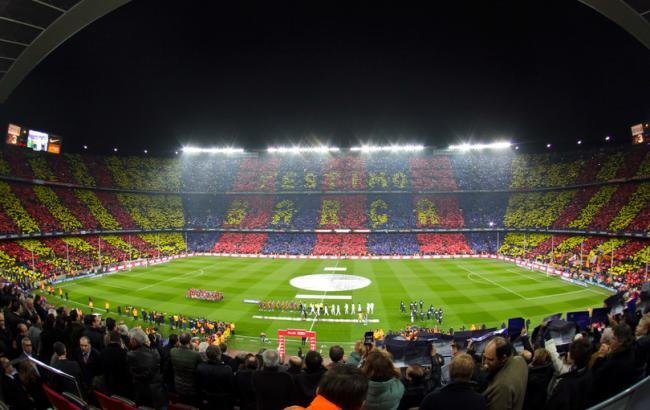 """Фото: стадион """"Камп Ноу"""" (fcbarcelona.com)"""