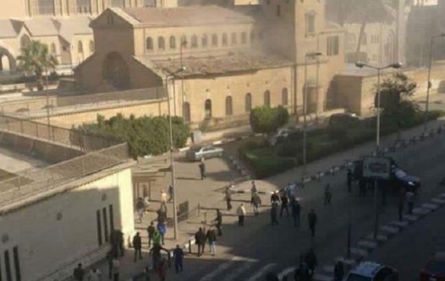 В Каире произошел взрыв возле собора, погибли 20 человек