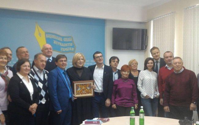 Фото: визит Мияович в Киев