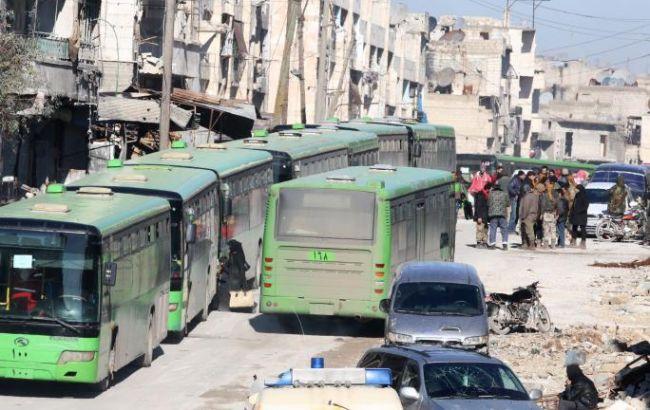 Красный Крест: Свосточного Алеппо всего эвакуировали 25 тыс. человек