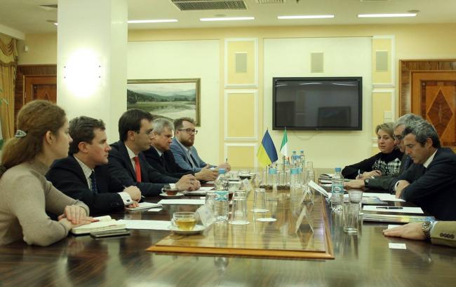 Фото: переговори з керівництвом компанії Italferr (mtu.gov.ua)