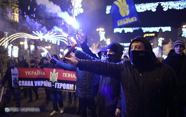 """""""Почему вся Слава Украине"""": Вятрович высмеял в карикатуре россиян"""