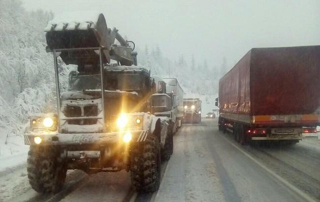 Фото: непогода на Закарпатье (ГСЧС)