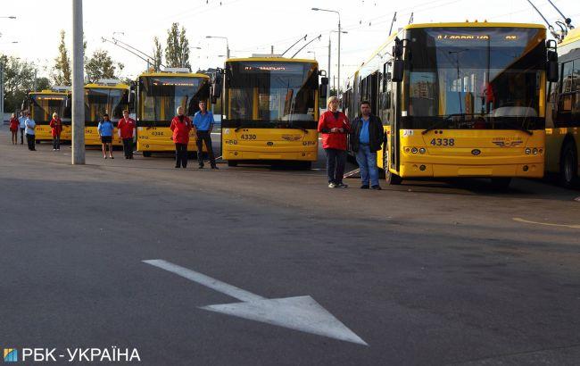 На Закарпатье разрешили работу общественного транспорта